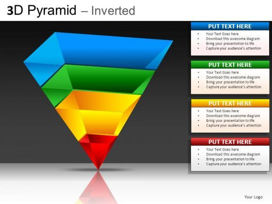 inverted pyramid powerpoint slides | planning resources | pinterest, Powerpoint templates