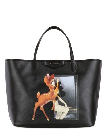 972d8cb976897 Givenchy Coated Canvas Bambi Tote Bag on shopstyle.com | Don't make ...