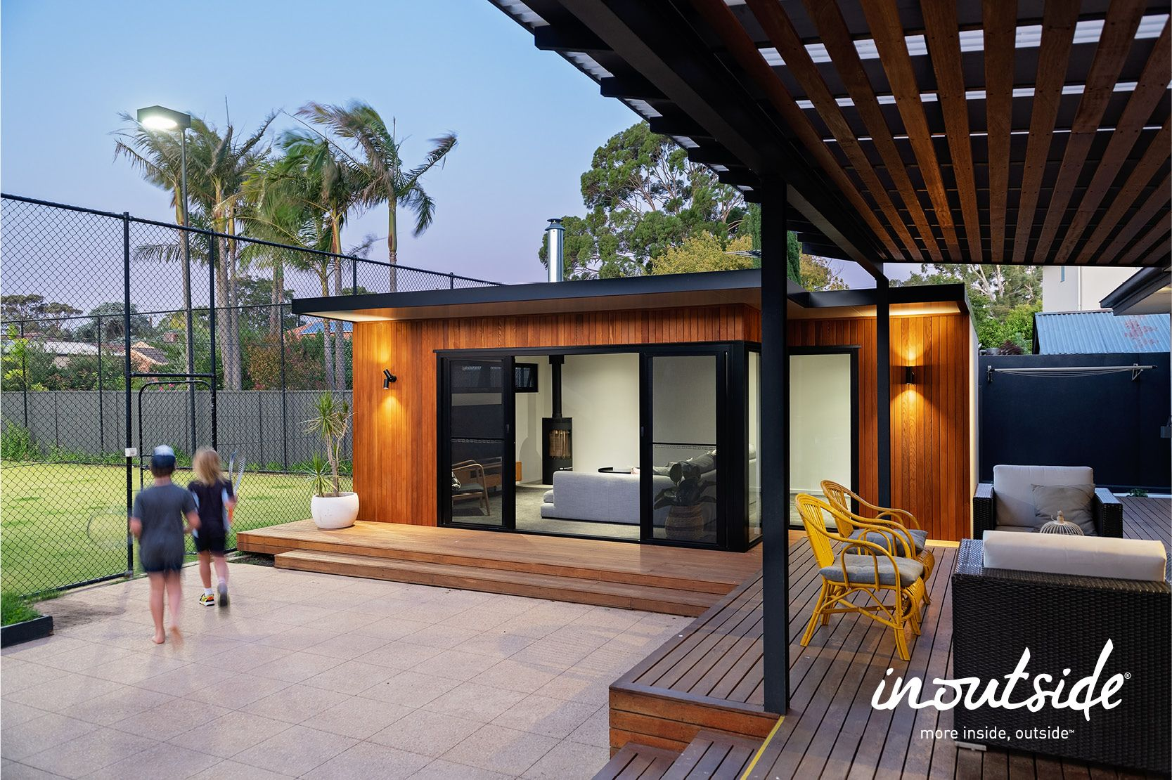 custom design by inoutside in 2020 | Outdoor rooms ... on Ab And Outdoor Living id=15351