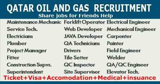 Qatar Oil And Gas Job Vacancies Qatar Recruitment Job Job Shop Earn Money Online Fast