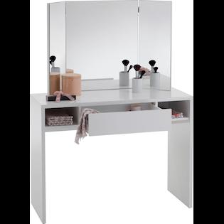 Fmd Schreibtisch Schminki Auf Rechnung Kaufen Baur In 2020 Schminktisch Weiss Schminktisch Weisse Mobel