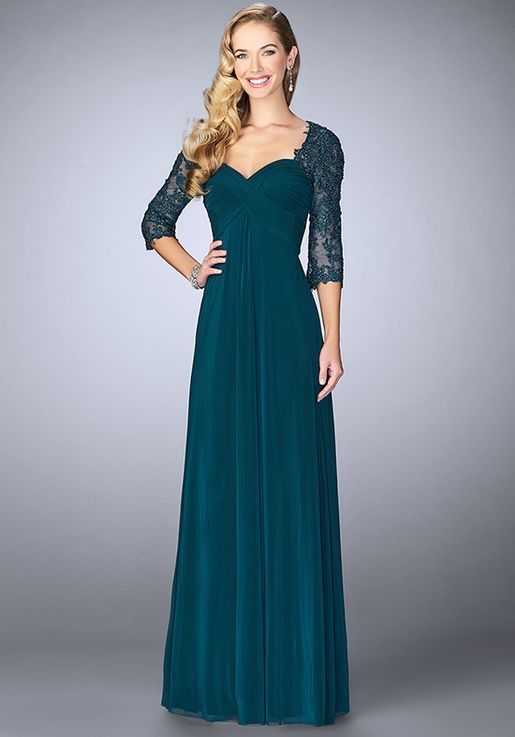 d132fd9ab3c La Femme Evening 23141 Green Mother Of The Bride Dress