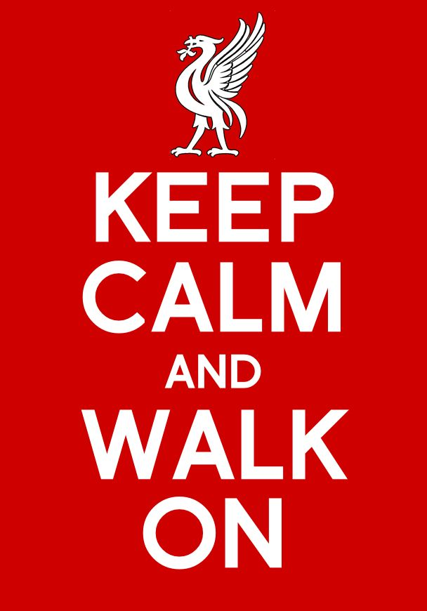 At least, the Reds went down trying. Keep Calm and Walk On. #YNWA | Liverpool FC