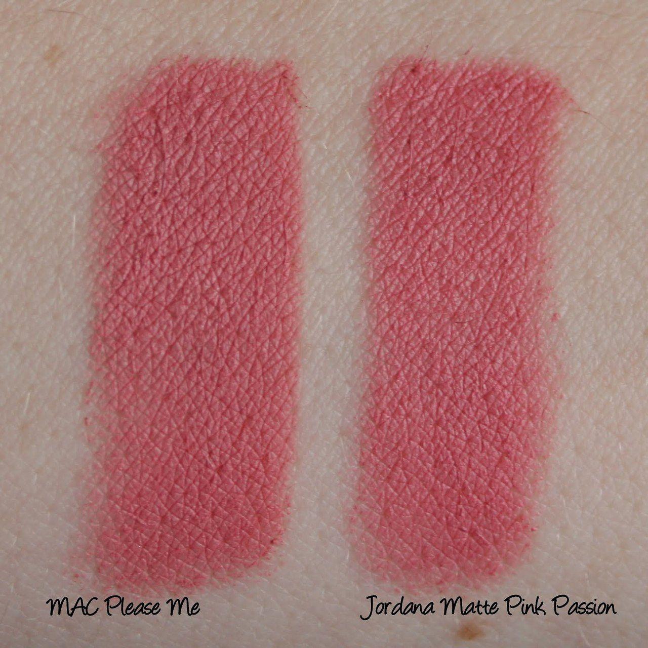 MAC Lipstick in 'Please Me' Alternative: Jordana Matte ...
