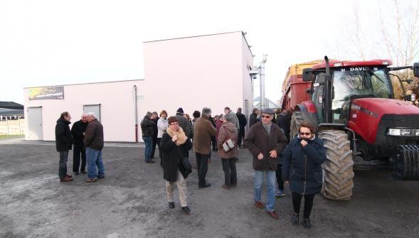 #Prisches : mairie, école, salle polyvalente… chauffées au #bois déchiqueté
