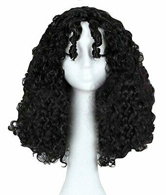 (Ad) Anogol Hair Cap+Women's Curly Wigs Wavy Movie Tangled Cosplay Wig#anogol