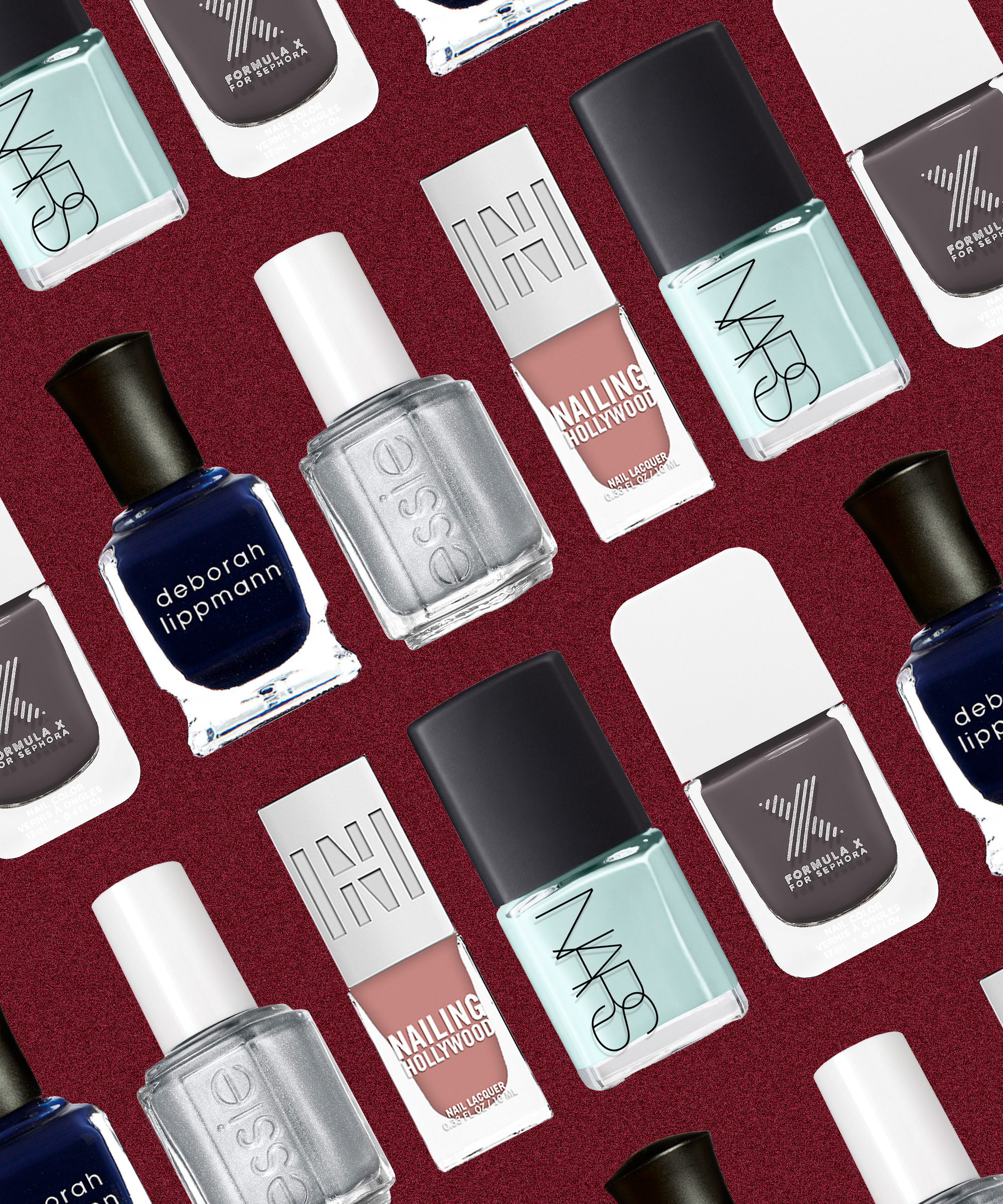 The Holiday Nail Polish Trend That We\'re Still Seeing In 2018 | Nail ...