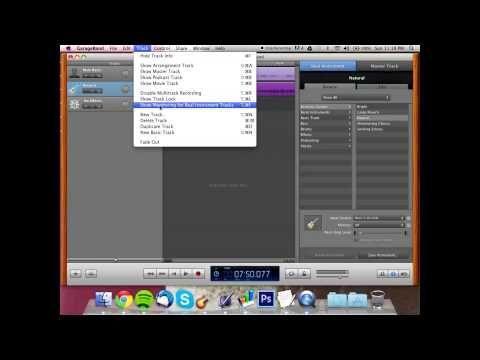 Home Recording Using An Interface W Garageband Tutorial Garage Band Recording Studio Home Tutorial