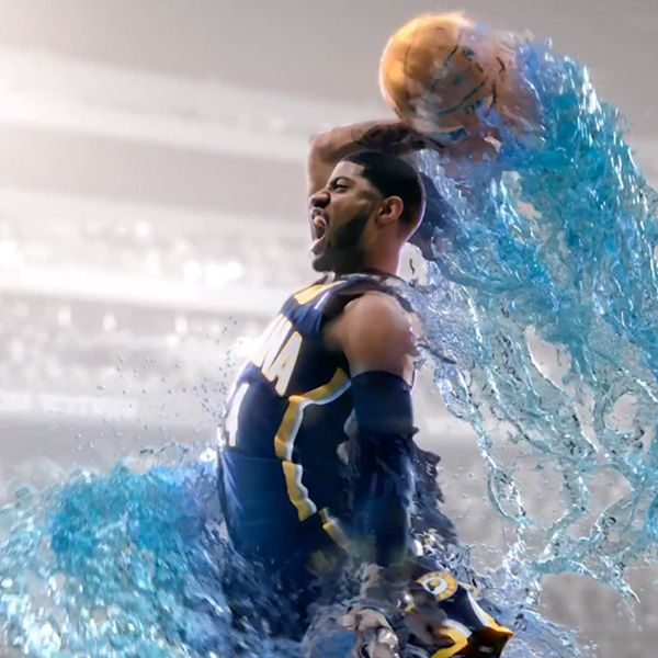 Motivational Quotes For Sports Teams: Gatorade Fierce Paul George Slam Commercial