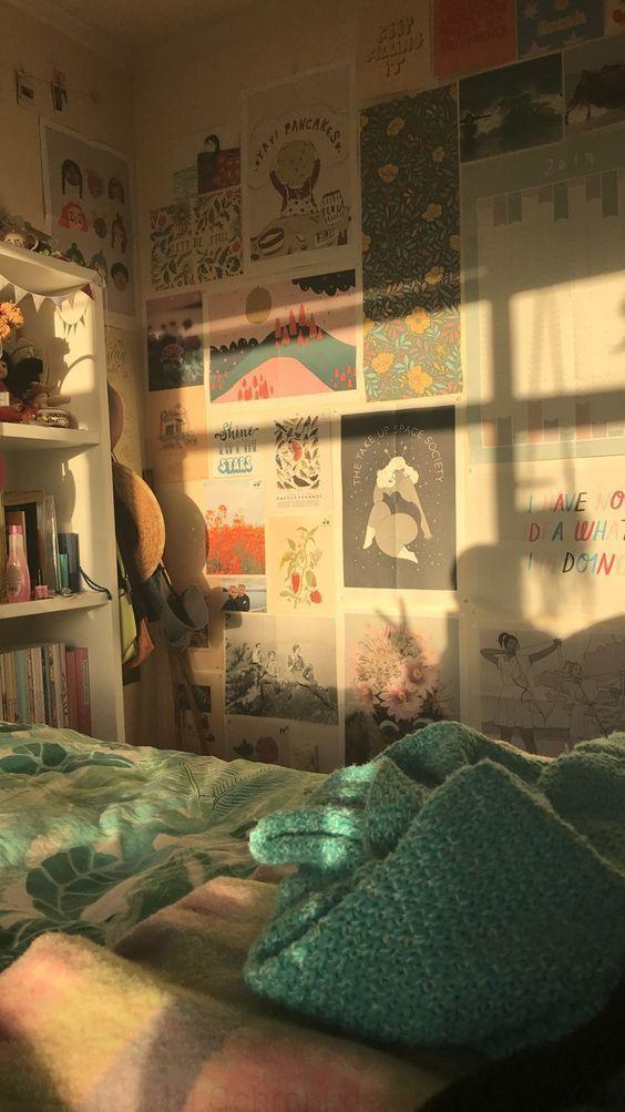 Aesthetic Of Vintage Room Decoration Vintage Room Decor Aesthetic Bedroom Room Inspo