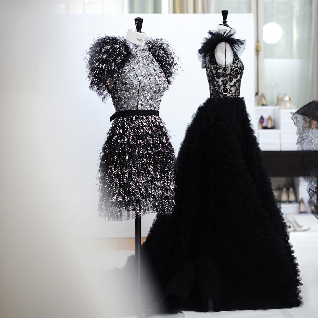 Ralph And Russo Behind The Scenes At Our Atelier Night Before Unveiling