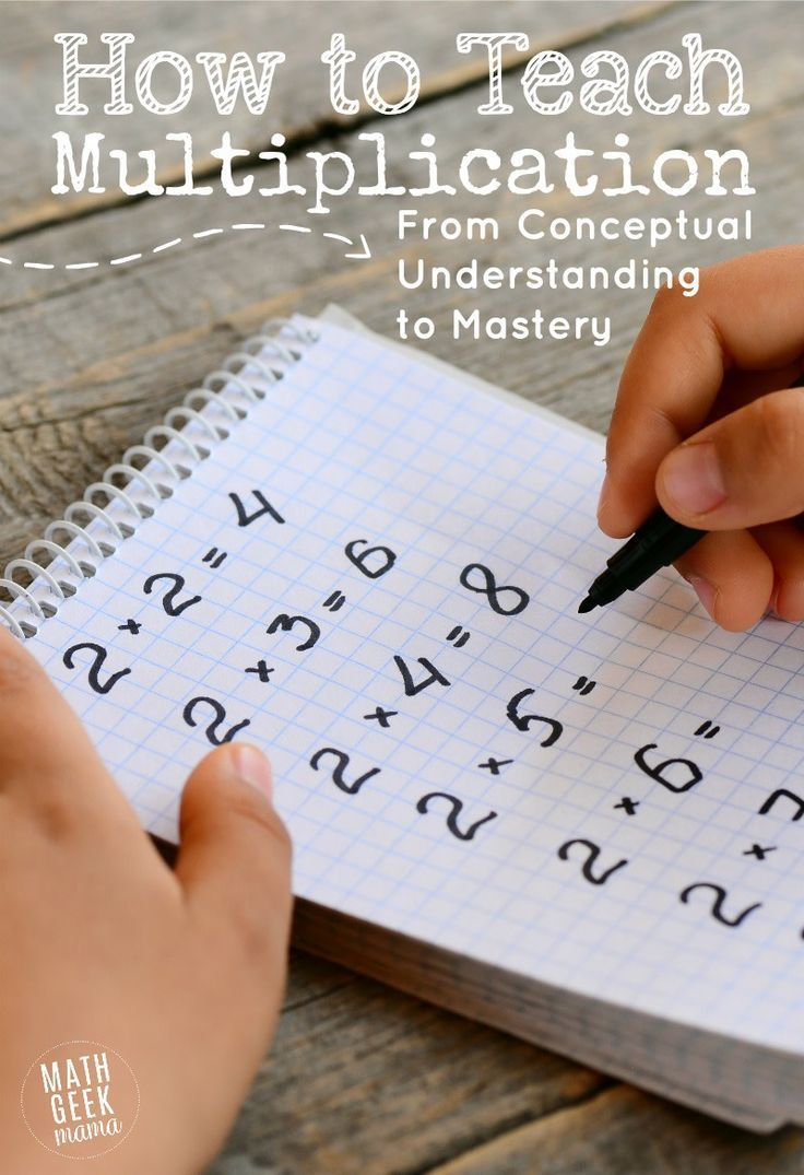 How to Teach Multiplication Facts That Stick {From