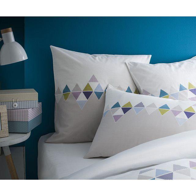 housse de couette imprim s graphiques 100 coton matt et rose prix avis notation. Black Bedroom Furniture Sets. Home Design Ideas