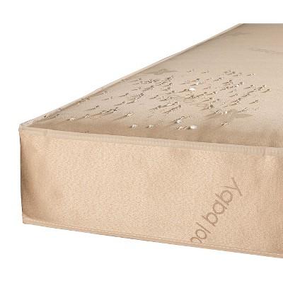 Sealy CoolSense 2-Stage Cool Gel Crib Mattress, Natural