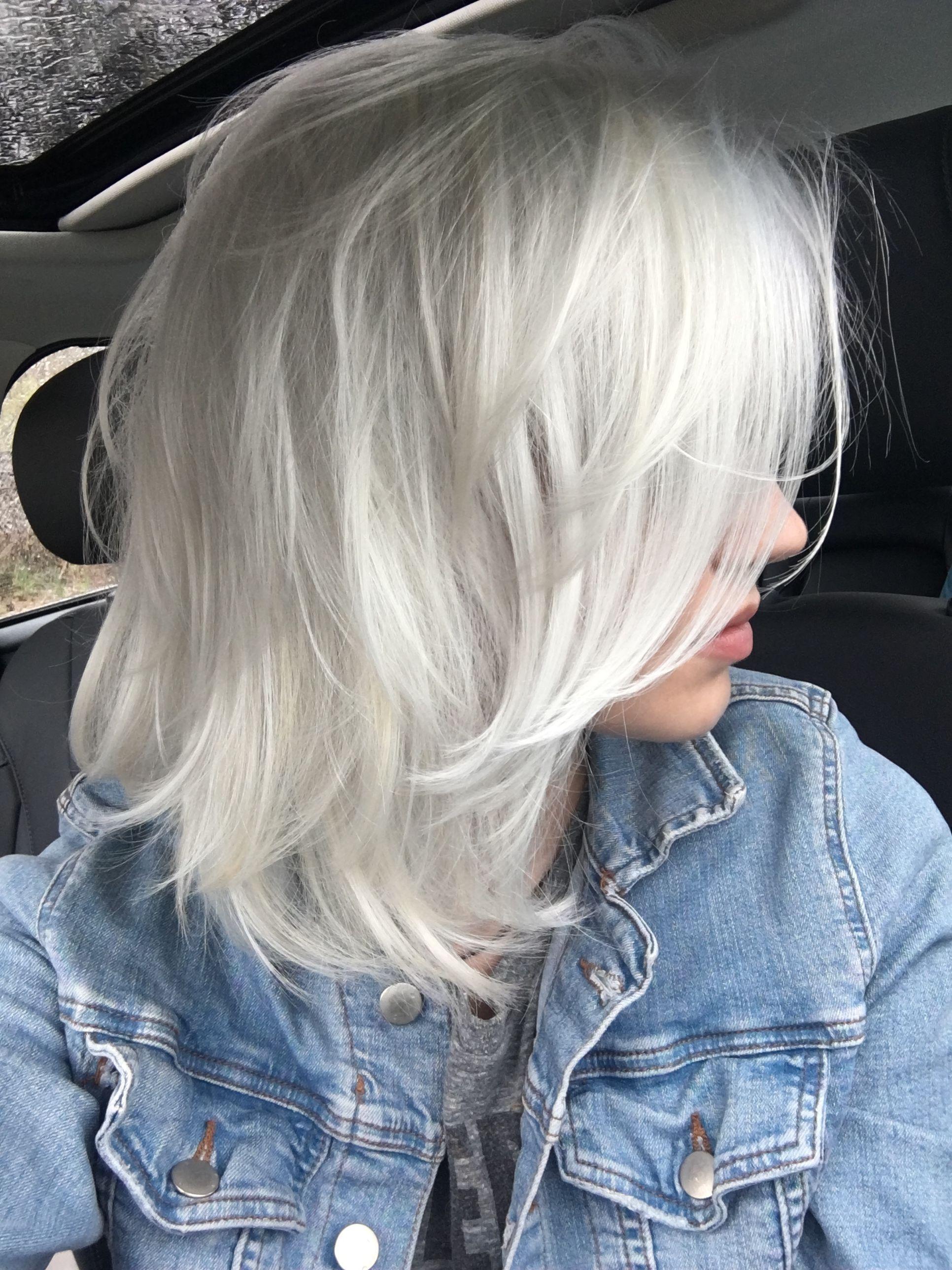 Platinum Grey Platinum Blonde In 2019 Cabello