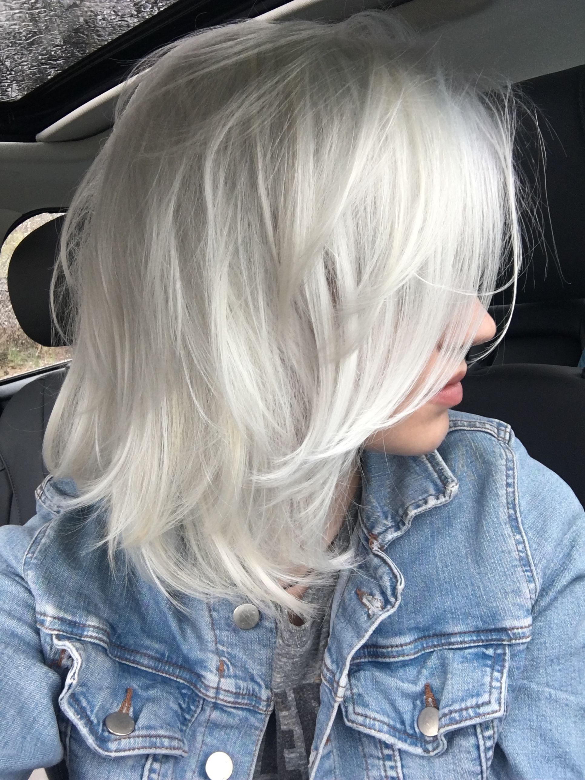 Platinum Grey Platinum Blonde Pinterest Hair Silver Grey Hair