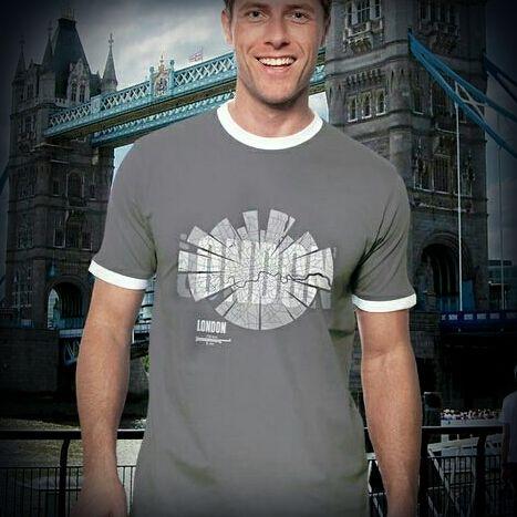ShirtUrbanization's Map of London on T-Shirts @ Spreadshirt http://www.spreadshirt.net/london-t-shirts-C4408A26001528