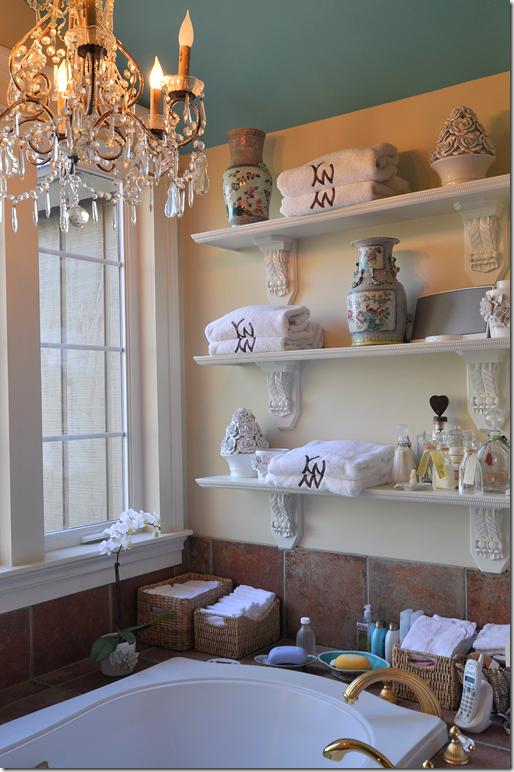 Monogram Bath Towels On Shelves Home Bathroom Pinterest - Monogrammed bath towels for small bathroom ideas