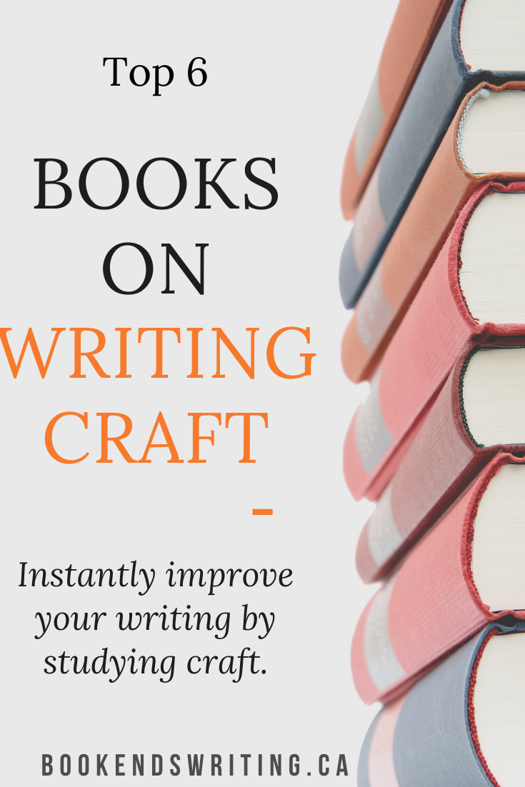 6 books on writing craft to learn how to write fiction and