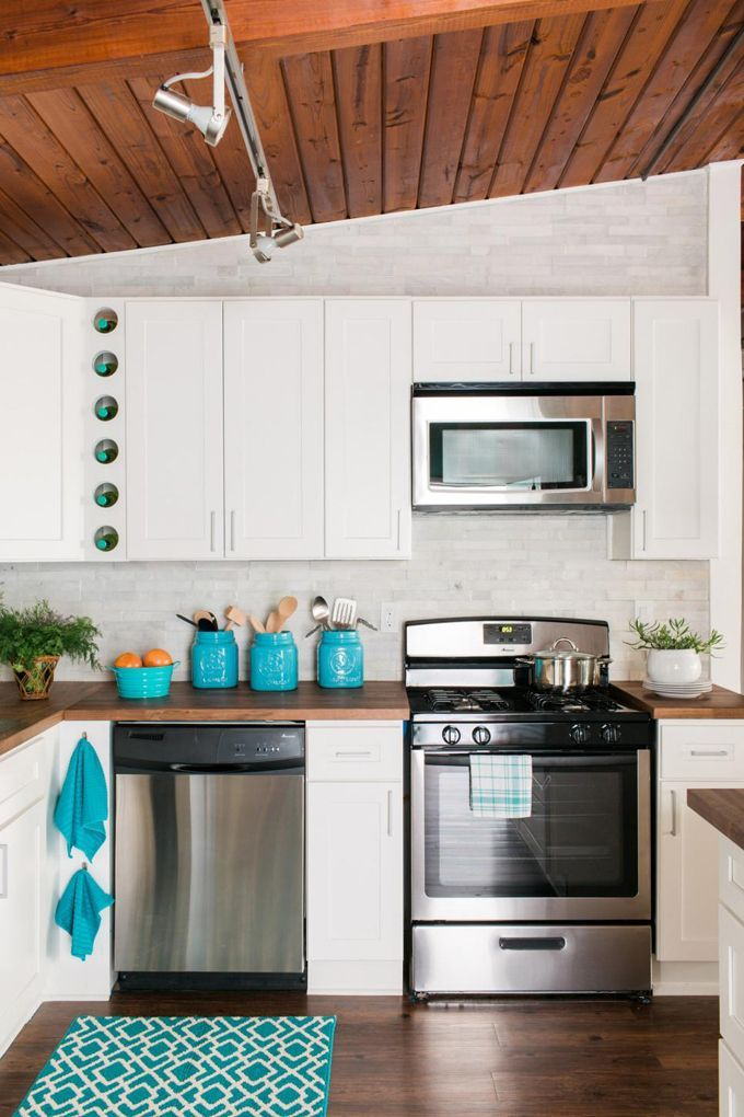 ultimate kitchen cabinets home office house. Ultimate Kitchen Cabinets Home Office House. White Kitchen, Turquoise  Accents, Wood Paneled Ceiling House I