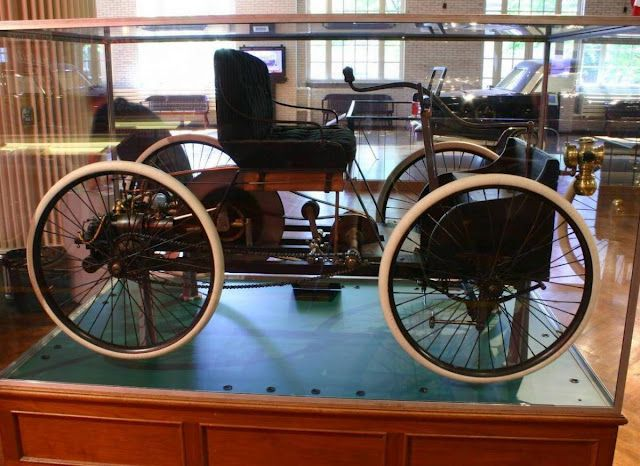 1896 Ford Quadricycle This Is Henry Ford S First Automobile Not