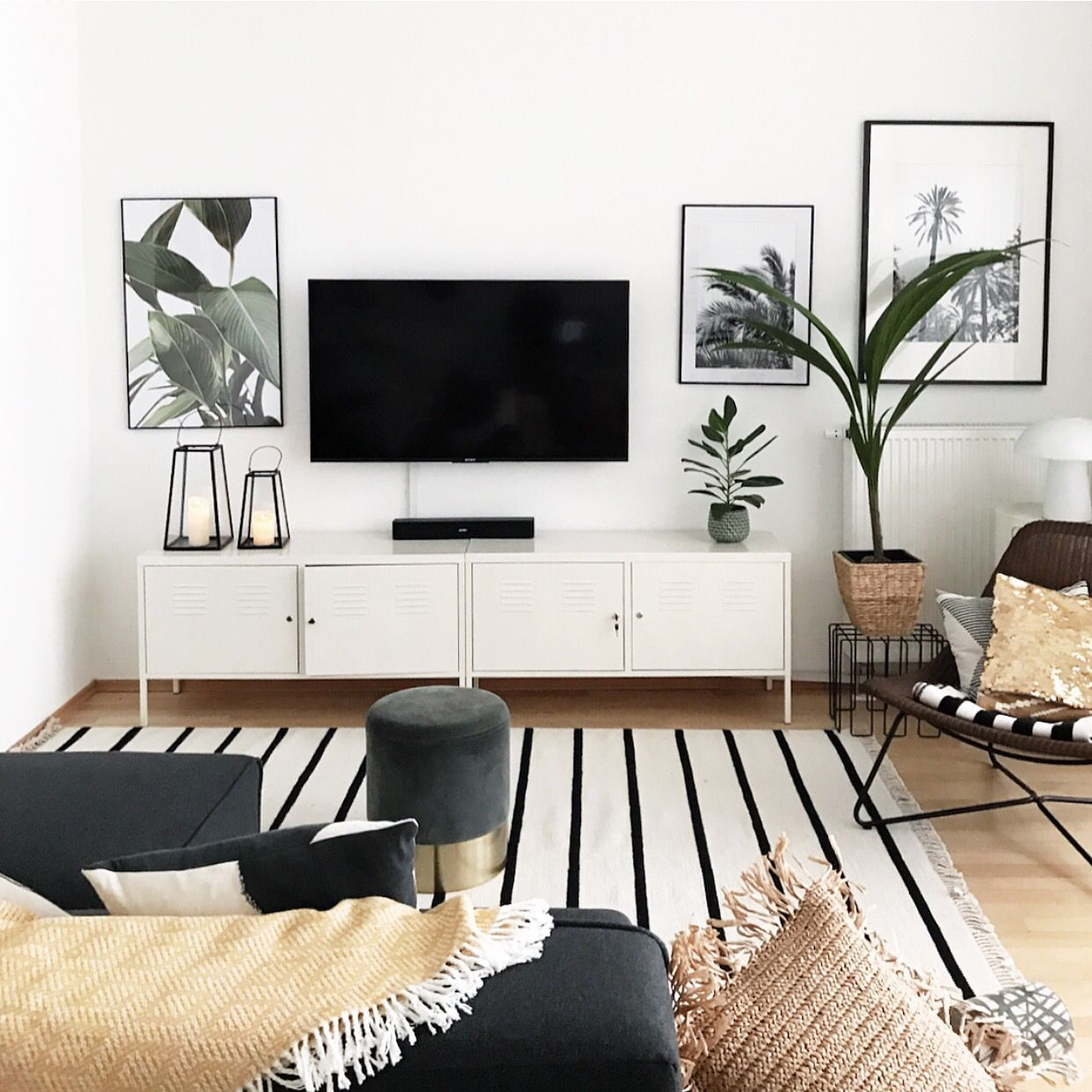 Photo of sophiagaleria – Interior & DIY Blogazine        Living Room with Plants #sophiag…