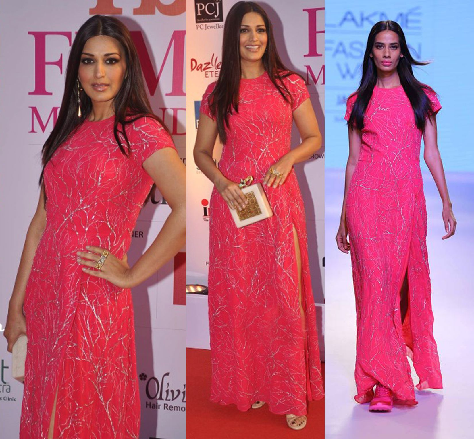 GET THIS LOOK- Sonali Bendre looks pretty and elegant in an outfit by Huemn. Shop now: http://www.perniaspopupshop.com/designers/huemn #celebritystyle #huemn #gown #elegant #perniaspopupshop #shopnow #happyshopping