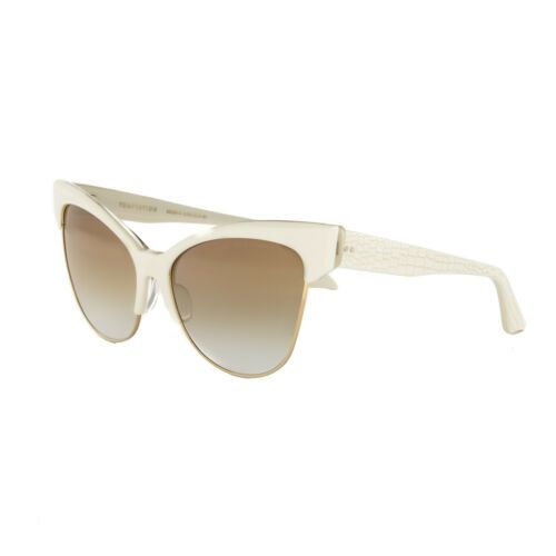 bfde96d006c Dita Temptation Sunglasses 22029C Cream 18K Gold   Brown to Clear Gold  Flash AR