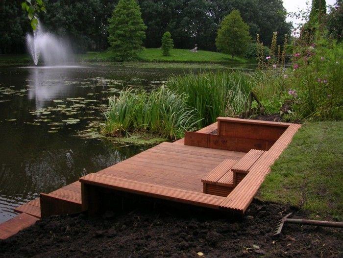 Vlonder aan het water ideeën voor het huis garden home