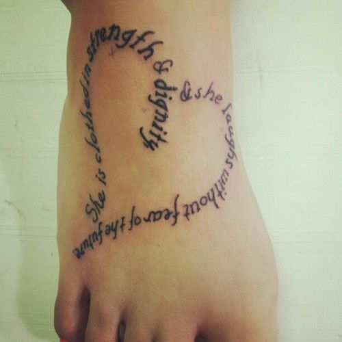 Tattoo Quotes Heart