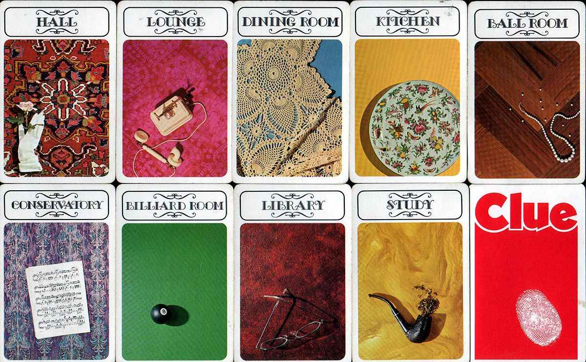 picture about Printable Clue Game Cards titled 1972 clue - Even though its just before my season, this is the model