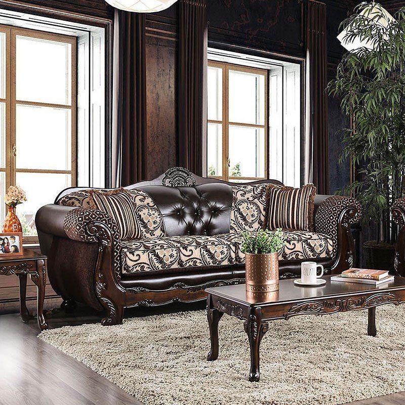 Quirino Sofa Light Brown Dark Brown In 2020 Furniture