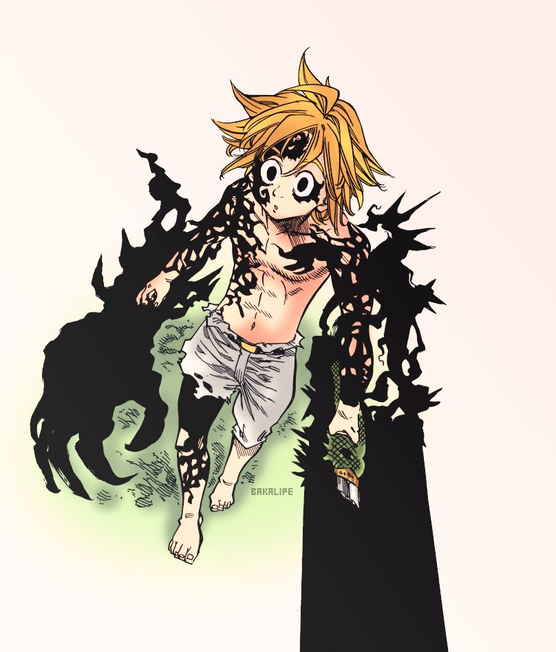 MeliodasSama! My background to my phone Seven deadly
