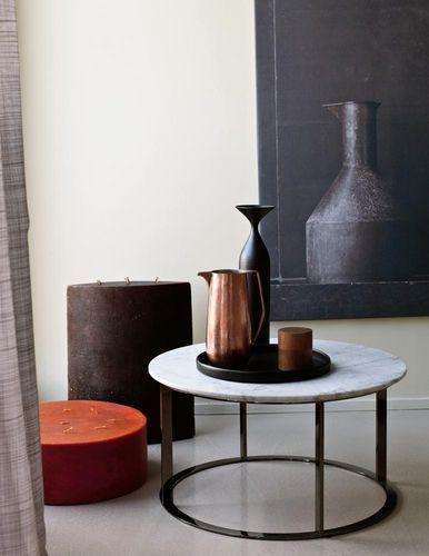 mesa de centro moderna de mrmol de antonio citterio mera bub italia