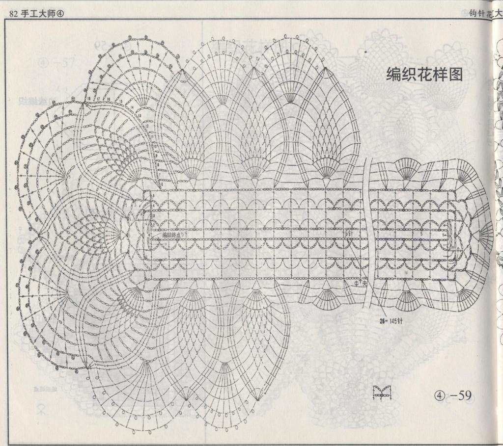 Picasa Webalbum Nissiakkat Pinterest Crochet Table Runner Oval Doily Diagram