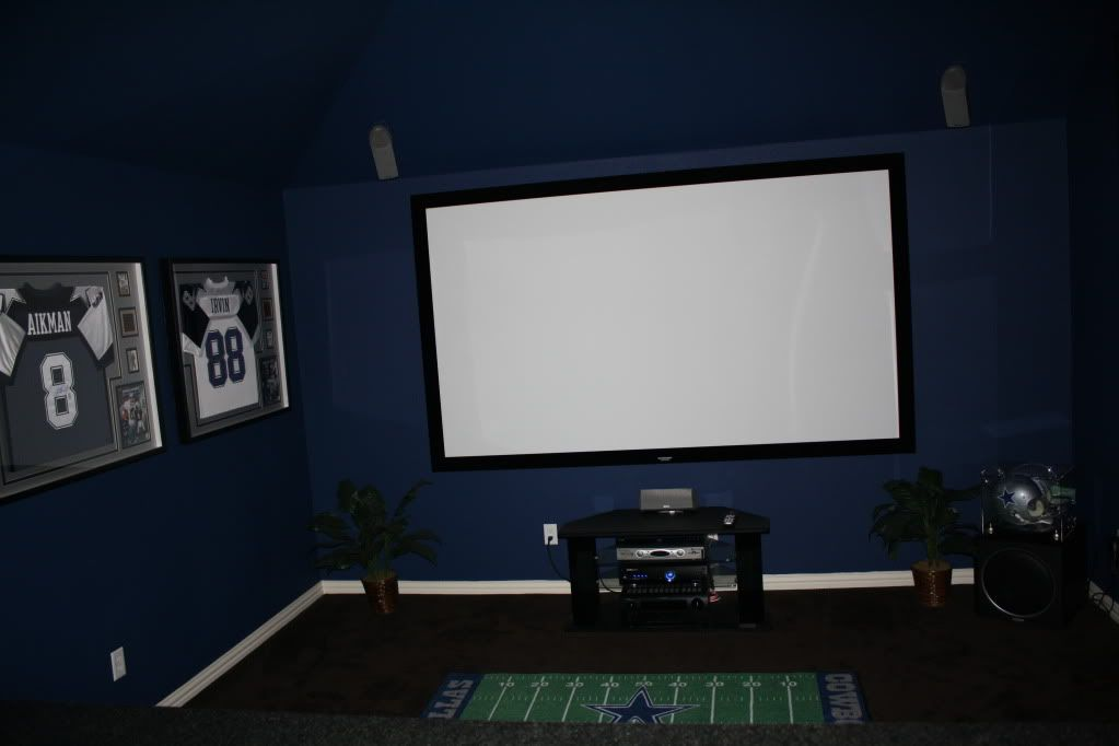 dallas cowboys theme room dallas cowboys themed media room photo img