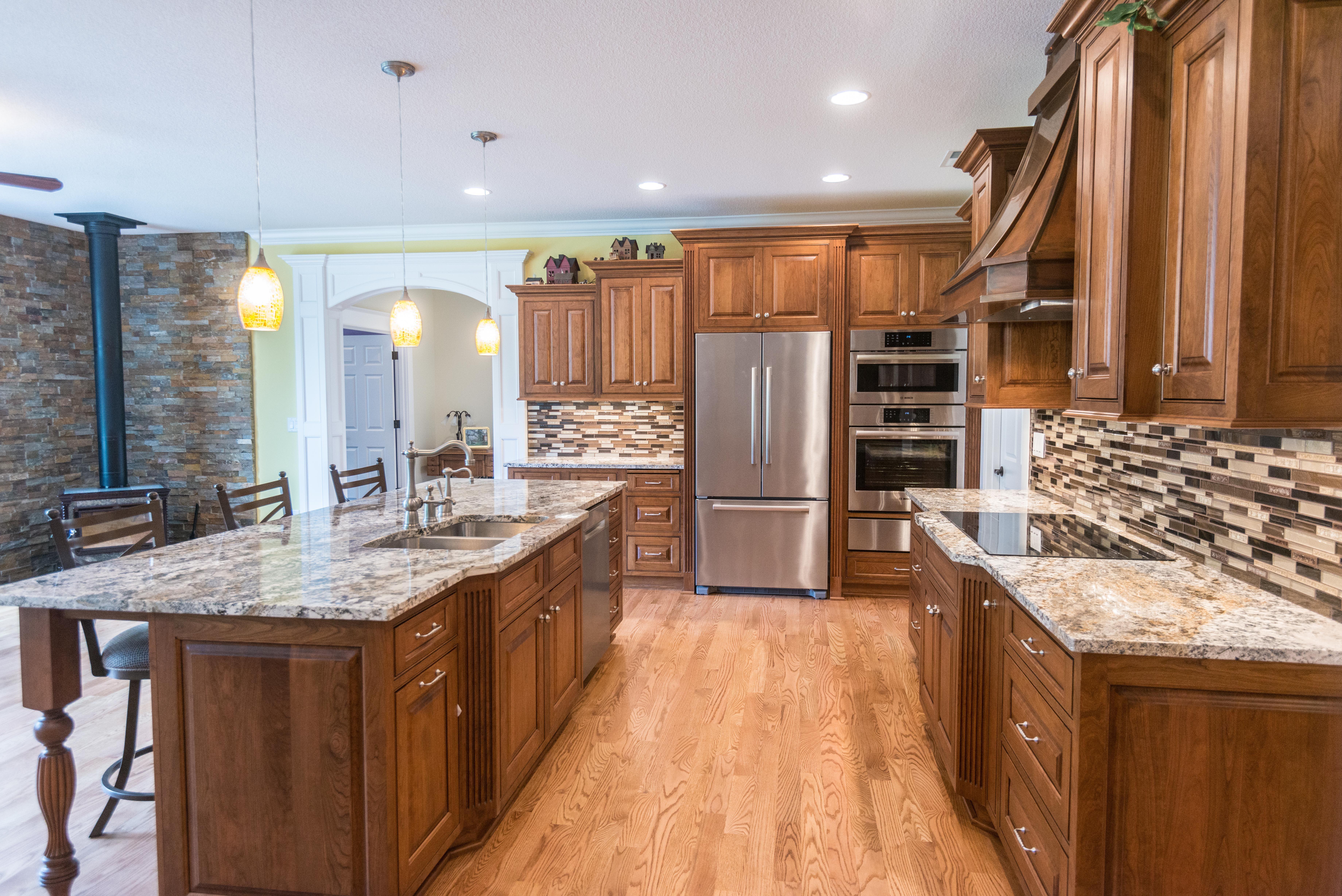 Dewils kitchen designed by act builders in