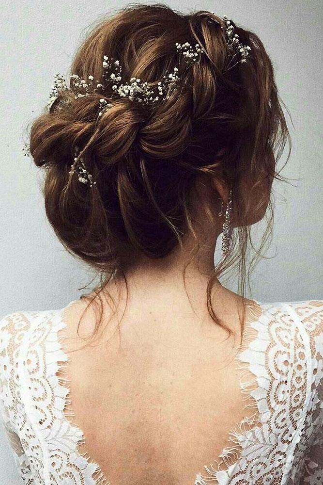 30 Pretty Cool Rustic Wedding Hairstyles Wedding Forward Hairdo Wedding Wedding Braids Rustic Wedding Hairstyles