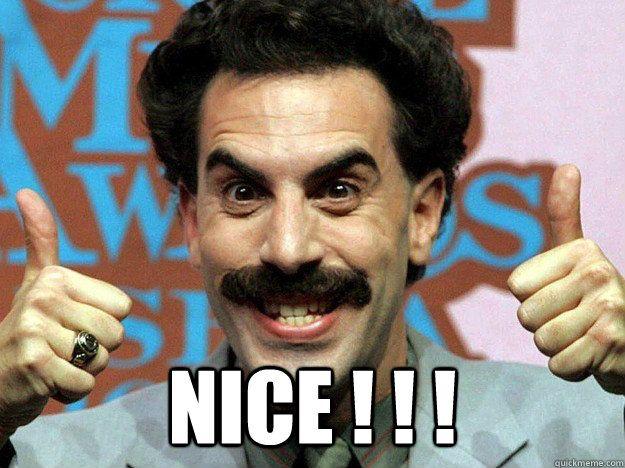 Borat Not Meme