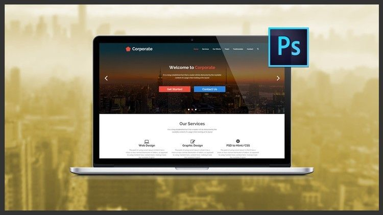 The Ultimate Web Designing Course In Photoshop Http Ift Tt 2xq63qd Web Design Course Learn Web Design Web Design Projects
