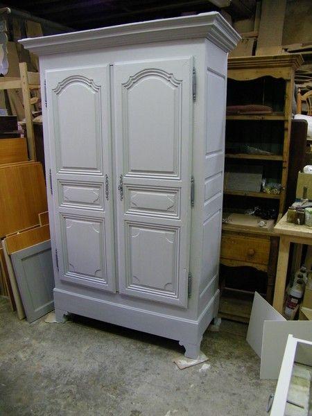 armoire louis14 peinte pinterest armoires peindre et meubles. Black Bedroom Furniture Sets. Home Design Ideas