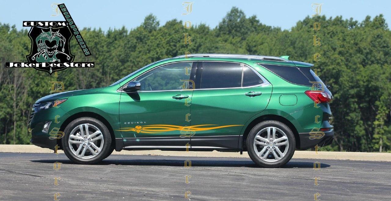 Chevy Equinox Accessories Chevrolet Decals Equinox Etsy In 2020 Chevrolet Equinox Stripe Kit Vinyl Car Stickers