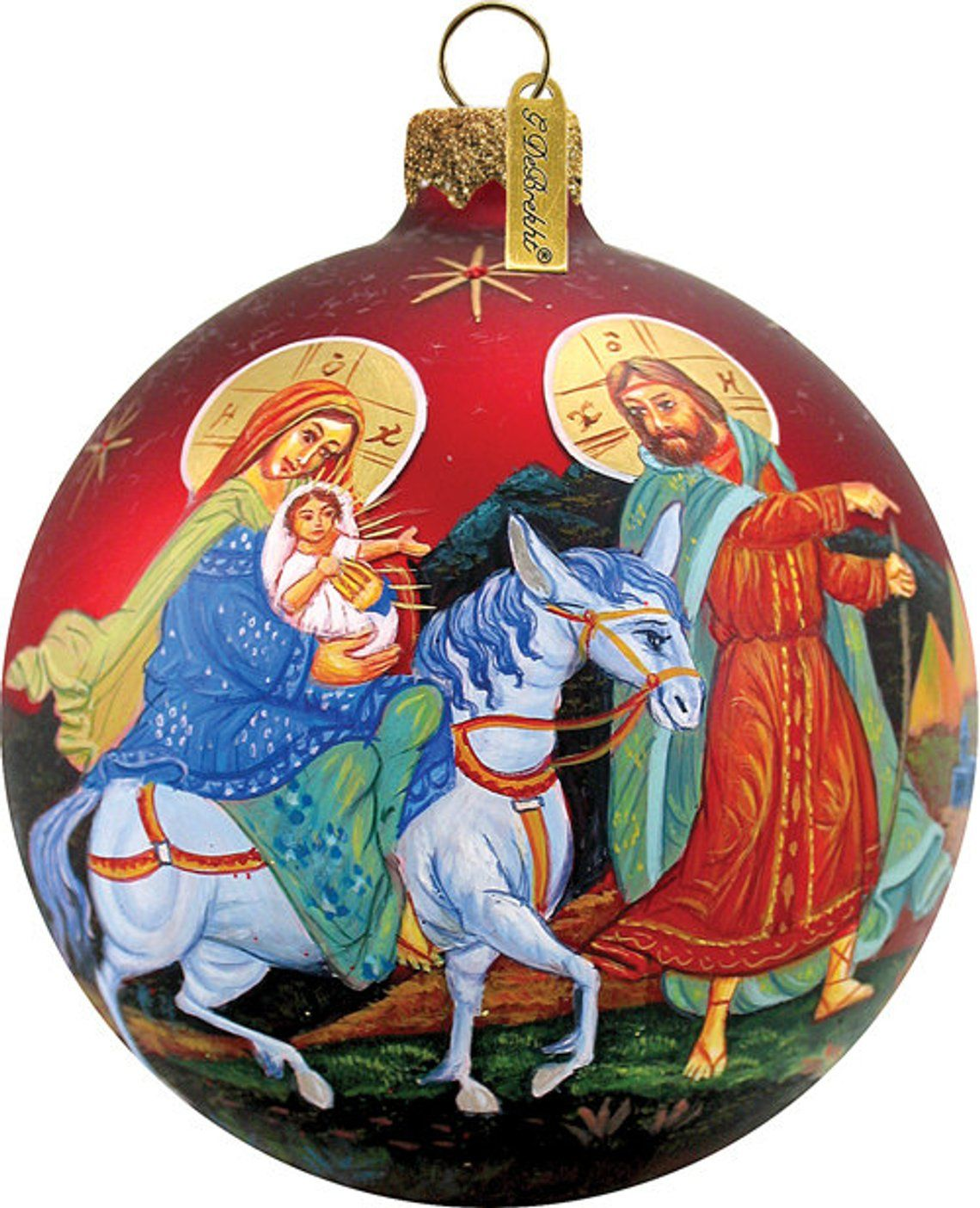 Nativity Ornament Handcrafted Christmas Limited Edition
