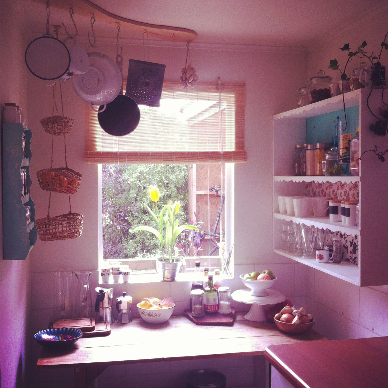 Cocina con aires del sur de Chile y un poco de vintage... | Ideas ...
