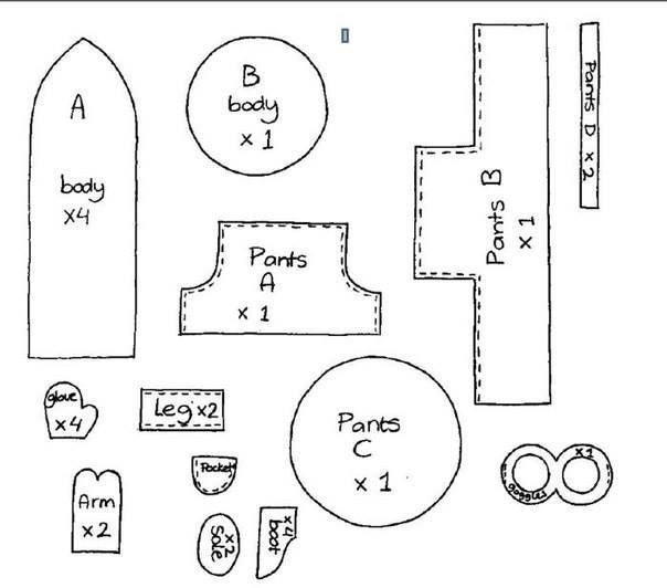 Free Minion Sew Patterns - Sedící Mimoň - střih   Tutorial... Jak na ...