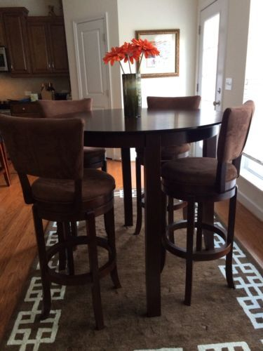 Wonderful Kitchen Or Sunroom Bar Height Table