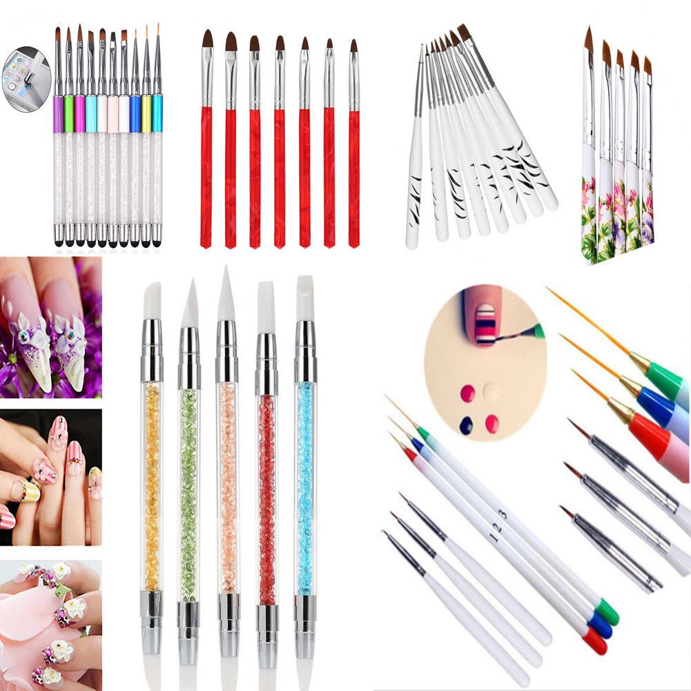 Nail Art Pens & Brushes Health & Beauty | Nail art pen, Manicure ...