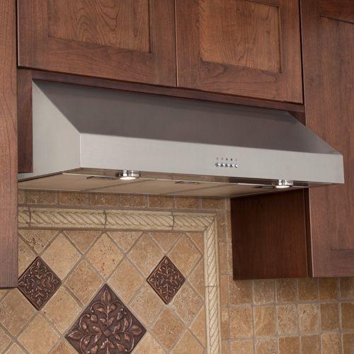 Fente Series 30 Under Cabinet Stainless Steel Range Hood Kitchen Vent Hood Kitchen Vent