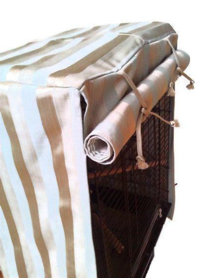 Gold Stripe Birdcage Cover By Ejcdezines On Etsy 30 00