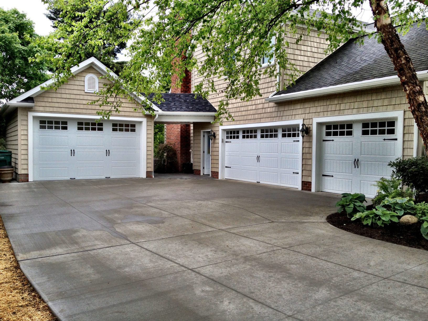 Clopay Gallery Collection Vintage Style Steel Garage Doors